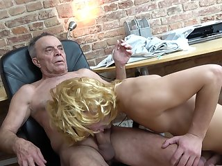 Anal, Blowjob, Old, Old and young, Sucking, Toys, Young,