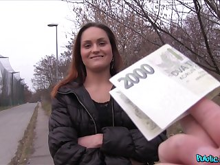 Stranger with a camera offers Barbara Babeyrre money for sex