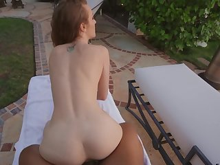 Join sexy Karla Kush by slay rub elbows with pool for a gratifying POV fuck