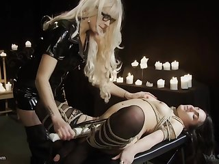 Cheri Rose Mort & Mistress Irony in The Submission Of Violet - KINK