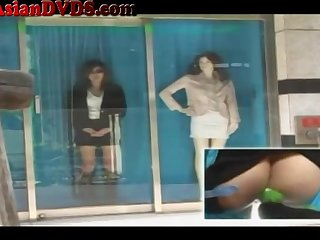 Crazy Japanese Window Nailing Part 2 - marica hase