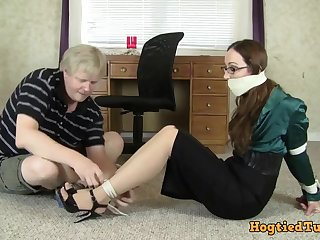 Crystal Clark bondage MILF kinky video