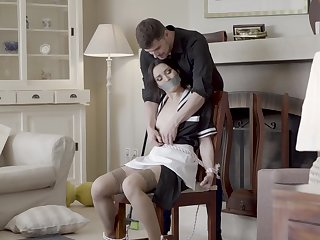 Of the first water home hardcore sex for the naughty maid