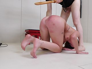 Wild fucking with girlfriend Leah Winters who loves roughly disgust spanked
