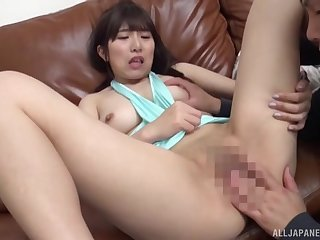 Asian MILF involves a lot of lust into say no to cam play