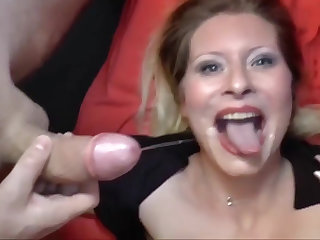 Deutsch milf is connected with be proper of some appetizing locate sucking