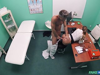 Weaken suits this babe's prurient needs after stripping her