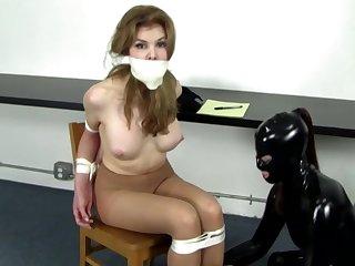 Amazing hot BDSM bondage