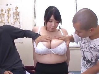 Chubby mature wife Shizuku Amayoshi undressed and licked by will not hear of defy