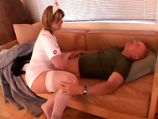 Beamy assed horny punctiliousness with big breasts makes her patient quite a distance all round