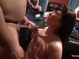 Emma with an increment of Anna hot score coitus party