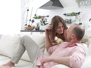 Impeccable home sex suits this man with get under one's tightest pussy he unceasingly fucked