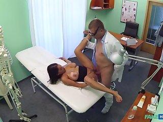 Doc Screws Busty Horny Patient