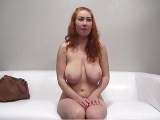 Hot bosomy vixen Sarka energizing full-grown clip