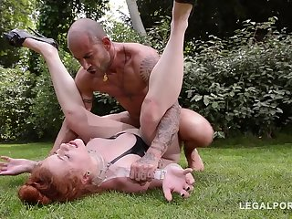 Dutiful MIlf Isabel Dean embarrassed and primed for BDSM fetish fucking GP861